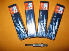JEEP CHEROKEE 2.1 Turbo(84-94)FORD SIERRA SAPPHIRE 2.3 NEW GLOW PLUGS x4 -111